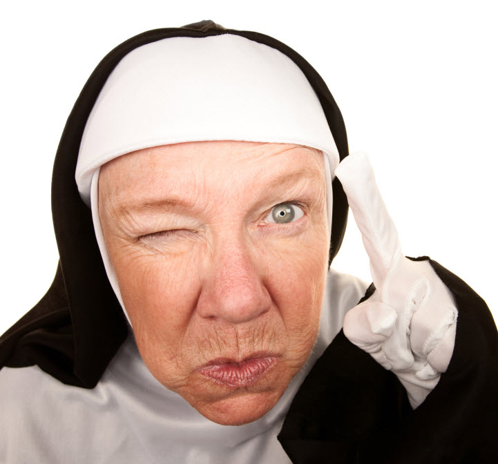 crazy-nun
