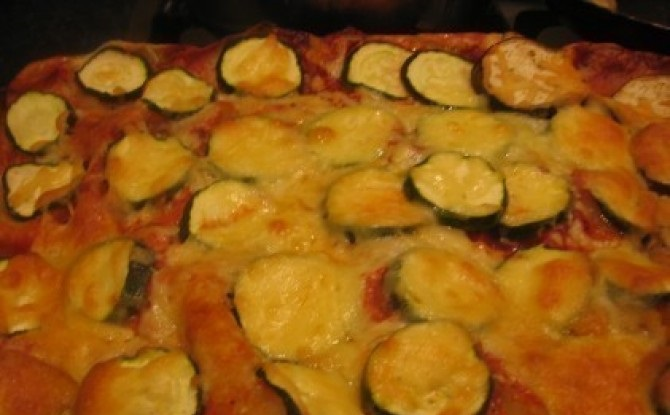 Padlizsános-lasagne