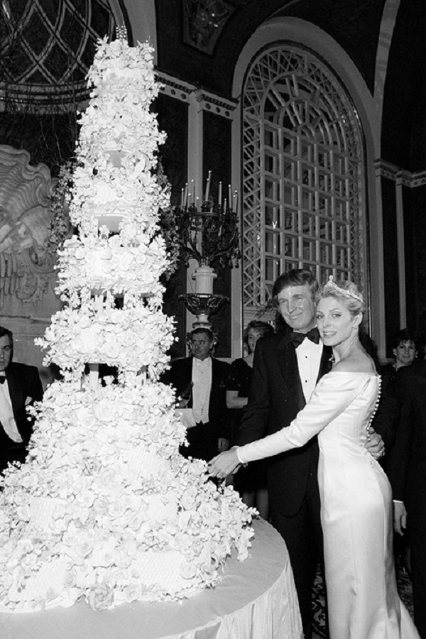Donald Trump and Marla Maples Wedding